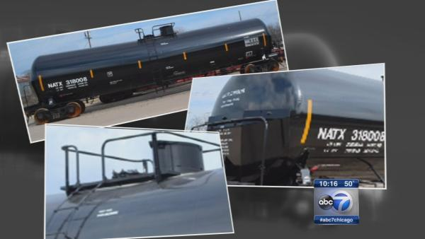 'Inadequate' rail cars carry hazardous materials in Illinois