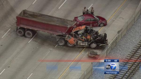 NB lanes closed after fatal crash on I-94 at 91st