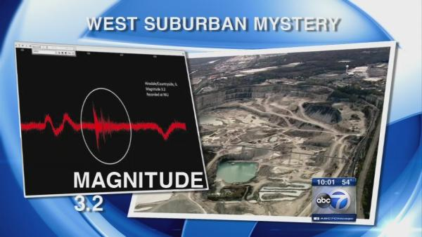Cause of west suburban tremors remains a mystery
