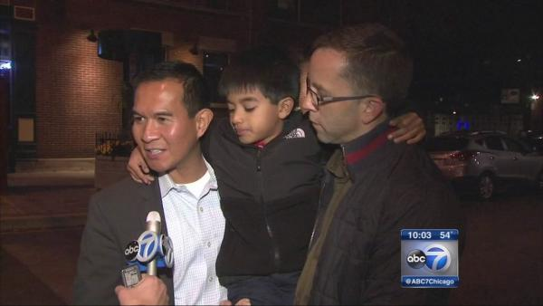 Gay marriage supporters celebrate historic vote in Boystown