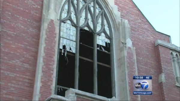 Accelerant used in Northwest Side church  fire