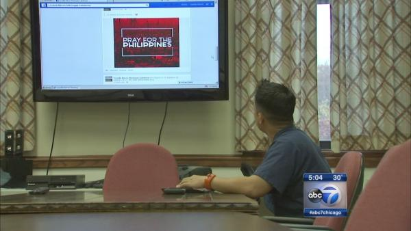 Filipino Americans in Chicago await news
