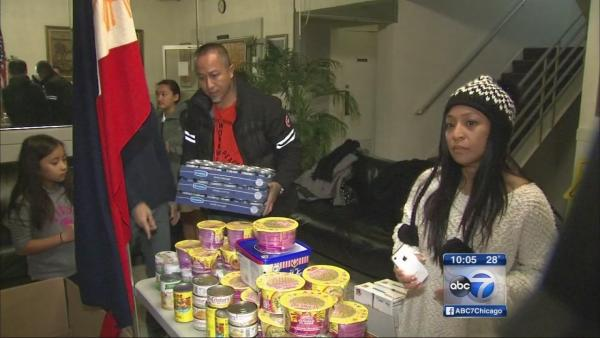 Chicago area mobilizes to send donations to typhoon survivors
