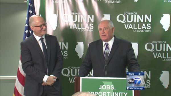 Paul Vallas introduced as Quinn running mate