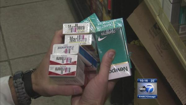 Cook County cracks down on cigarette black market