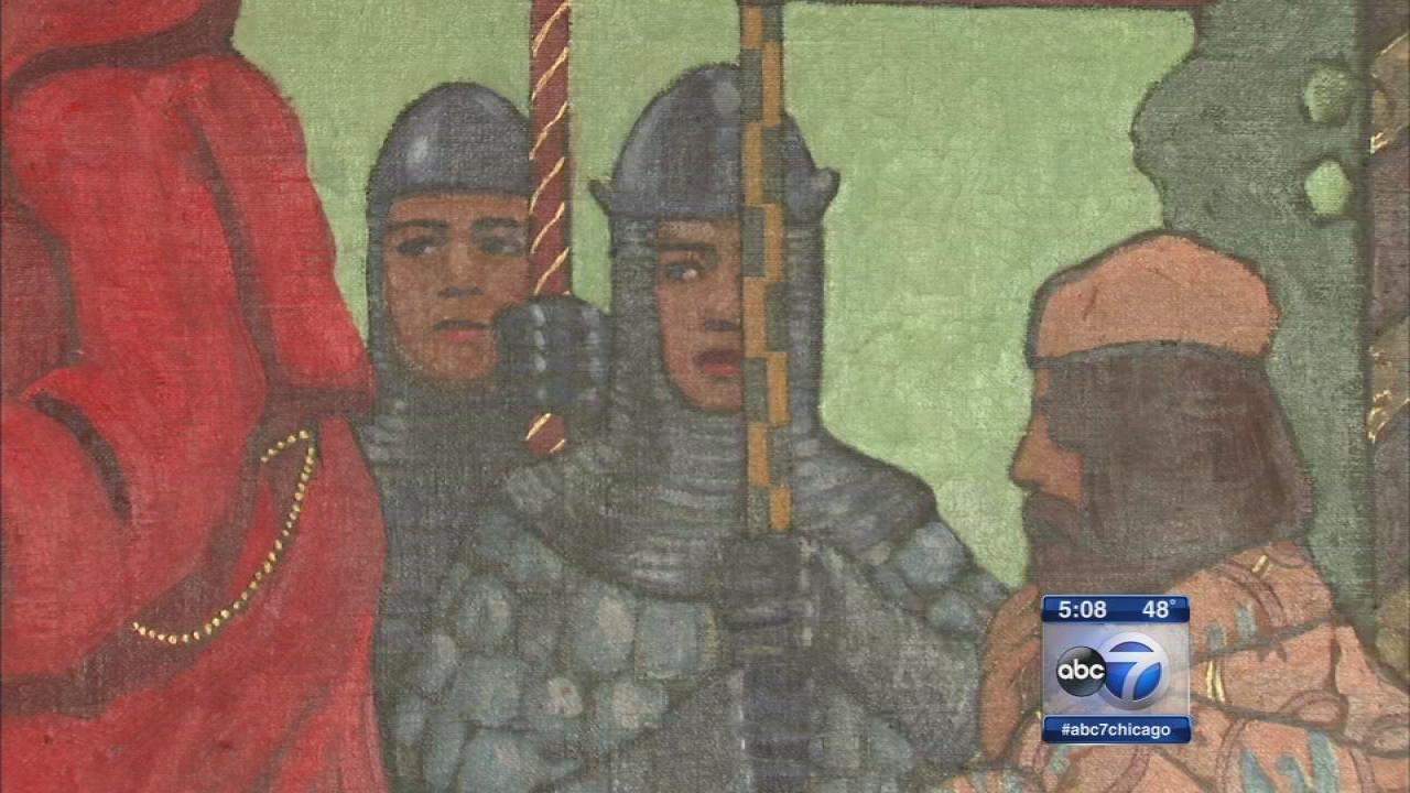 CPS restores historic murals removed from closed schools