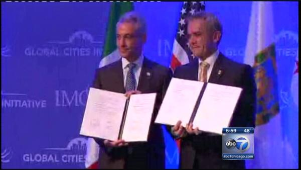 Mayor Emanuel travels to meet Mexico City mayor, expand economic ties