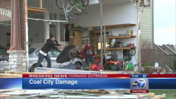 Coal City, Manhattan, Washington devastated by tornado outbreak