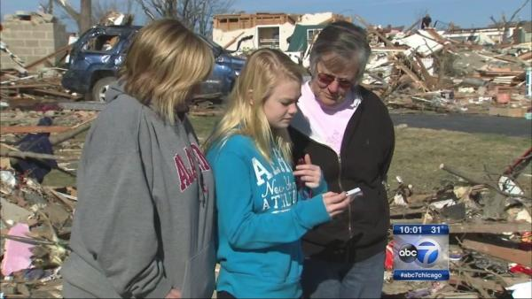 Tornado survivors forced to leave as curfew kicks in