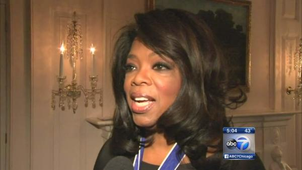 Exclusive: Oprah speaks about Medal of Honor