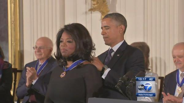 Medal of Freedom honorees celebrate at gala