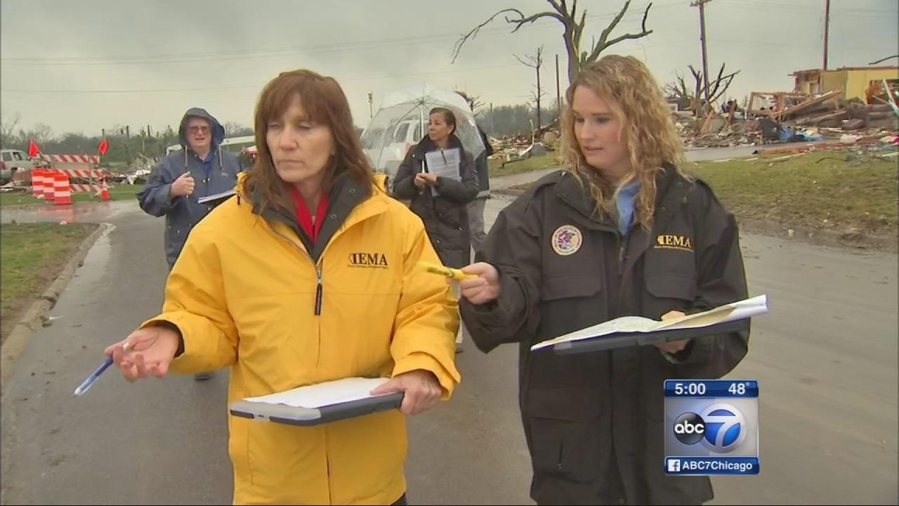 FEMA assesses Washington tornado damage