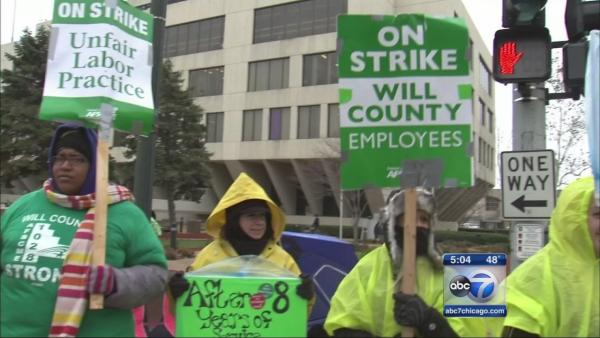 Some Will Co. workers ordered back on job