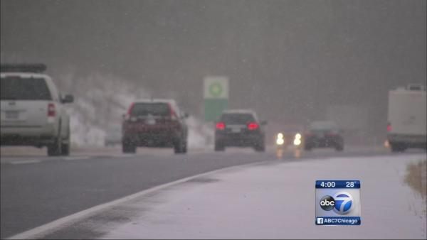 Ind. snow snarls Thanksgiving 2013 travel