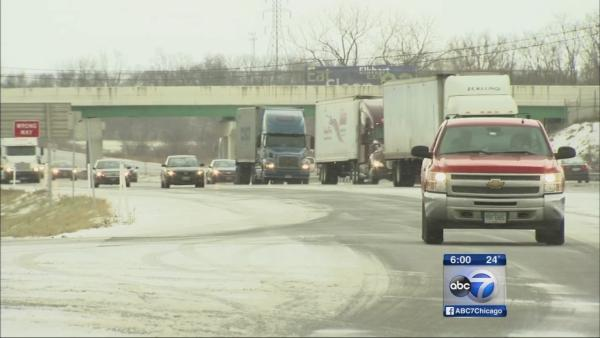 Indiana Tollway mostly clear of lake-effect snow