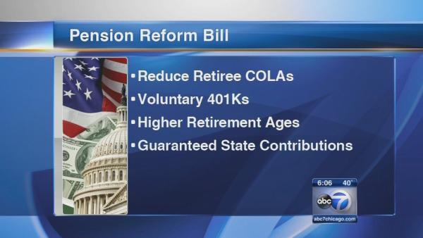 IL lawmakers prepare to vote on pension bill