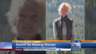 Authorities try to identify body found near missing womans home