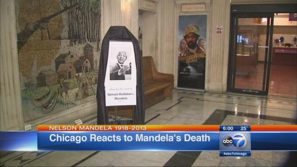 DuSable Museum holds tribute to Nelson Mandela