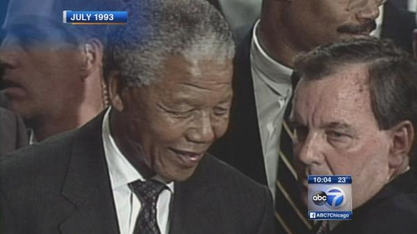 Chicagoans recall how Nelson Mandela touched their lives