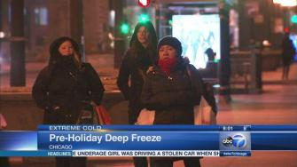 Frigid temps, sub-zero wind chills settle in