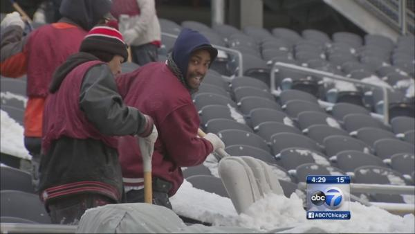 Below-zero windchills possible for Bears' kickoff