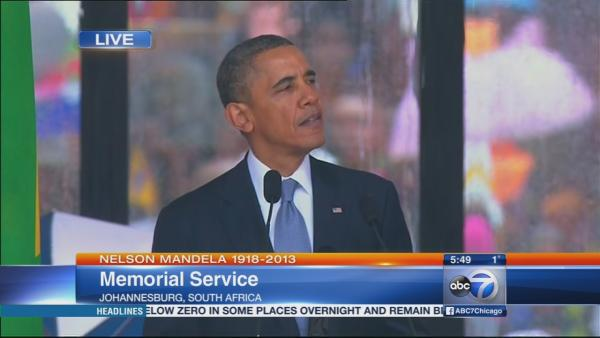 Obama Nelson Mandela Memorial Speech