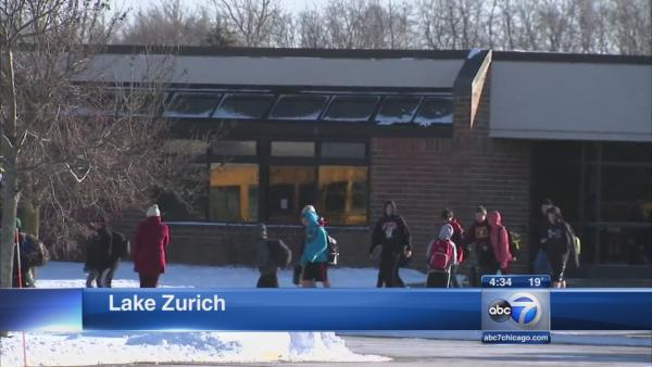 Lake Zurich lockdowns lifted after reported student with weapons