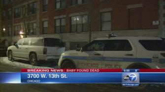 Baby found in car seat pronounced dead