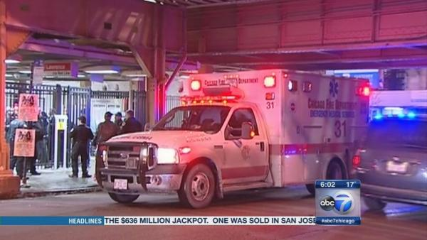 CTA Red Line shooting injures man