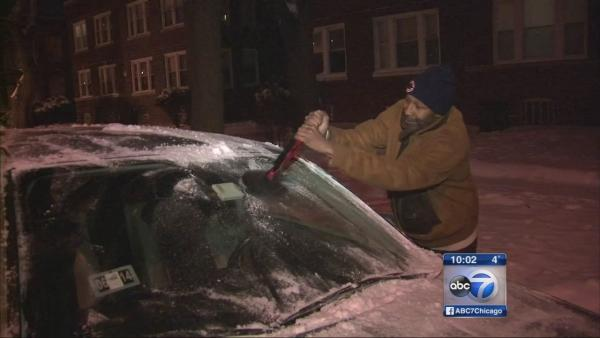 Snow gives way to dangerous cold in Chicago