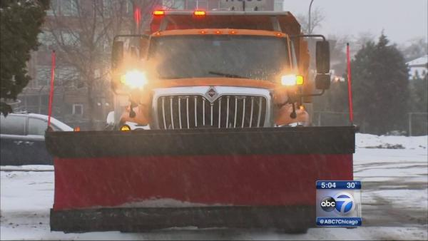 Salt trucks preparing for latest snowfall