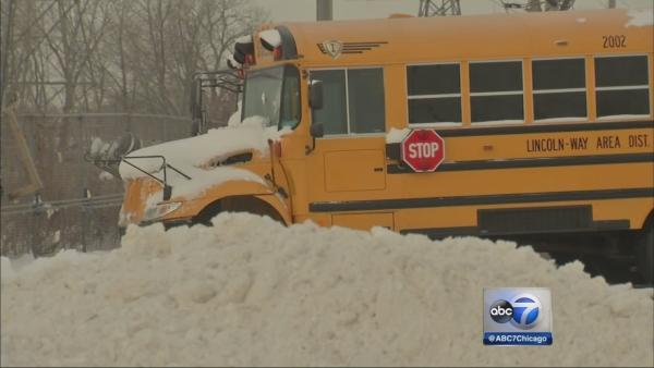 Cold school bus problems leave kids with no ride