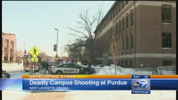 1 fatally shot at Purdue