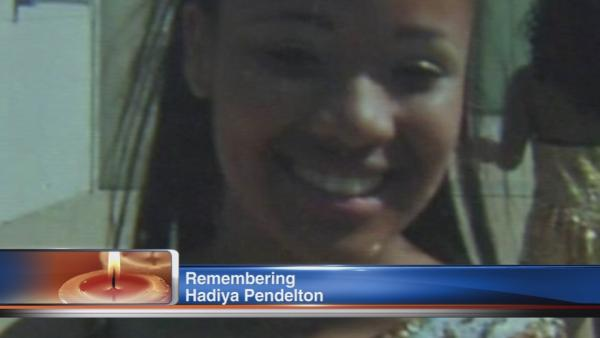 Hadiya Pendleton, 1 year later