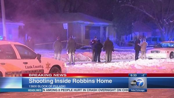 Robbins shooting leaves several injured inside home