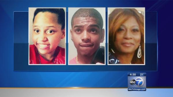 Family mourns 4 killed inside Robbins home