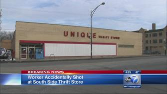 Gun hidden in sock kills woman at thrift store