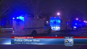 Chicago police officer shot on South Side