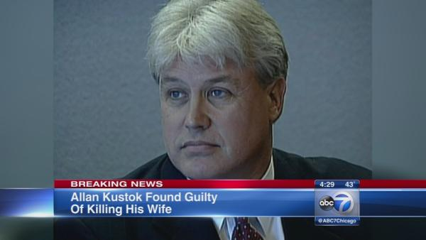 Allan Kustok found guilty of killing wife in 2010