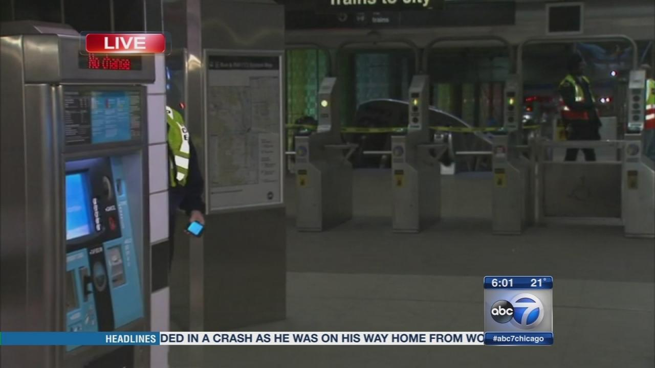 Blue Line derailment injures 32, train hits escalator