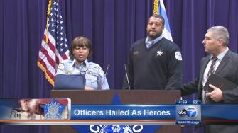 Hero officers save two boys from West Pullman fire