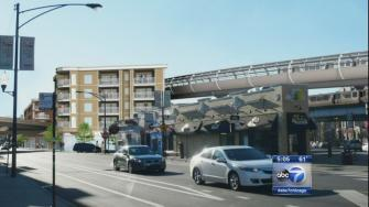 CTA Belmont bypass plan could affect 16 buildings