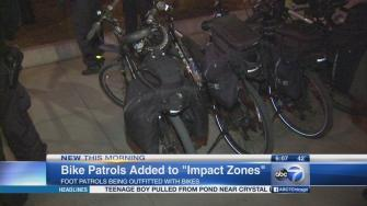 CPD bike patrols to swarm high-crime areas