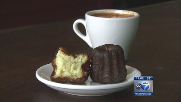 Bad Wolf Coffee offers French caneles