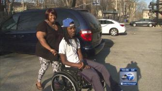 Motorized wheelchair stolen from inspirational teen