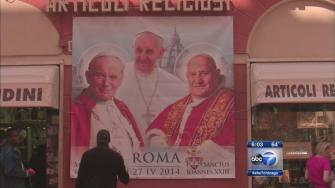 Canonization preparations underway in Rome