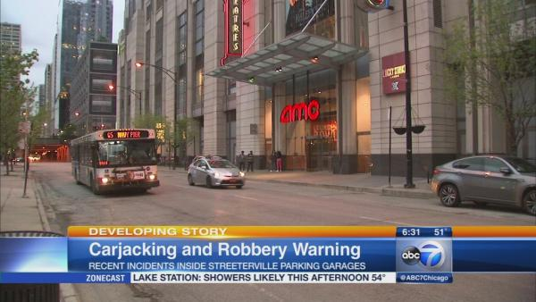 Police seek 2 in Streeterville carjackings