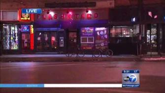 A woman was stabbed outside Flash Taco in Wicker Park around 2 a.m. Friday morning.