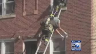 CFD rescues elderly man from Roseland house fire