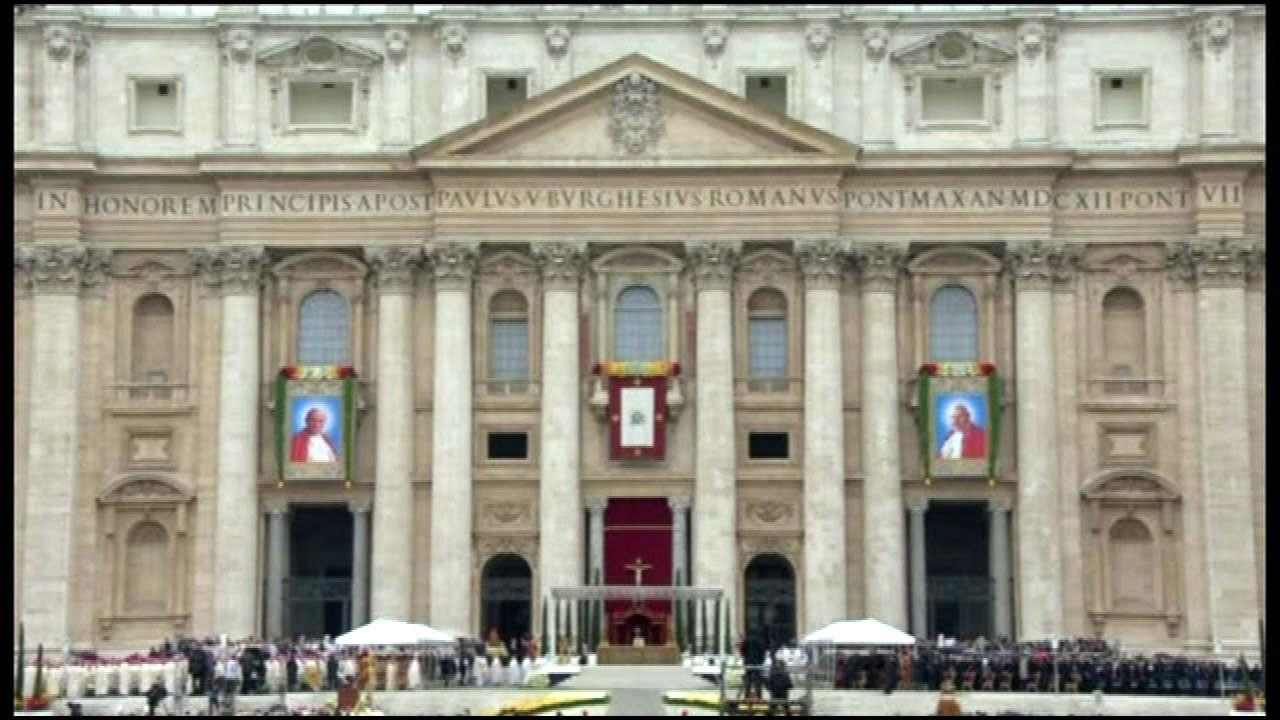 Canonization ceremonies of Popes John Paul II and John XXIIIVatican Pool Feed